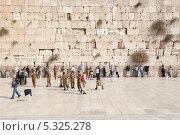 Купить «Иерусалим, Стена Плача. Израиль», фото № 5325278, снято 12 ноября 2013 г. (c) Александр Овчинников / Фотобанк Лори