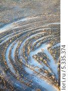Вид сверху на таежные просторы зимой. Стоковое фото, фотограф Владимир Мельников / Фотобанк Лори