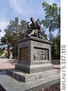 Купить «Памятник Г.Р.Державину», фото № 5337310, снято 4 июня 2013 г. (c) Рашит Загидуллин / Фотобанк Лори