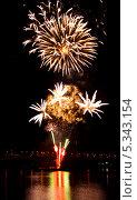 Фейерверк. Стоковое фото, фотограф Анастасия Ефремова / Фотобанк Лори