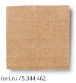 Квадратный кусок картона. Стоковое фото, фотограф Алексей Лукин / Фотобанк Лори