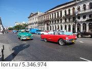 Купить «Республика Куба, Гавана, городской пейзаж», фото № 5346974, снято 19 октября 2018 г. (c) Игорь Долгов / Фотобанк Лори