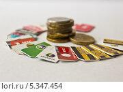 Купить «Сим-карты», фото № 5347454, снято 8 декабря 2013 г. (c) Sashenkov89 / Фотобанк Лори