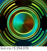 Яркий абстрактный фон. Стоковая иллюстрация, иллюстратор daniel0 / Фотобанк Лори