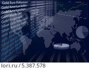 Котировки на фондовой бирже. Стоковая иллюстрация, иллюстратор Александр Орлов / Фотобанк Лори