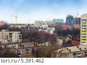 Купить «Брянск. Городской пейзаж», эксклюзивное фото № 5391462, снято 22 ноября 2013 г. (c) Сергей Лаврентьев / Фотобанк Лори