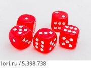 Купить «Красные кубики», фото № 5398738, снято 18 мая 2012 г. (c) Олег Жуков / Фотобанк Лори