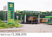 """Купить «АЗС """"Электон-Нефтегаз""""», эксклюзивное фото № 5398970, снято 24 мая 2013 г. (c) Алёшина Оксана / Фотобанк Лори"""