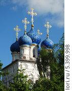 Купить «Церковь Казанской иконы Божией матери в Коломенском, Москва», эксклюзивное фото № 5399998, снято 19 мая 2010 г. (c) lana1501 / Фотобанк Лори