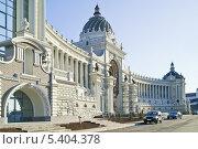 Купить «Дворец земледельцев, Казань», фото № 5404378, снято 18 апреля 2010 г. (c) Parmenov Pavel / Фотобанк Лори