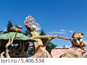 Купить «Необычные скульптуры в парке развлечений. Тбилиси. Грузия», фото № 5406534, снято 3 июля 2013 г. (c) Евгений Ткачёв / Фотобанк Лори