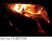 Тлеющие дрова. Стоковое фото, фотограф Алексей Горбунов / Фотобанк Лори