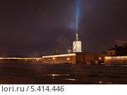 Преломление света над Петропавловским собором. Стоковое фото, фотограф Александр Ольхов / Фотобанк Лори