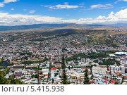 Купить «Панорама Тбилиси. Грузия», фото № 5415938, снято 3 июля 2013 г. (c) Евгений Ткачёв / Фотобанк Лори