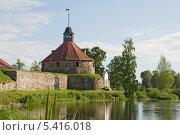 Купить «Музей-крепость «Корела». Приозерск», эксклюзивное фото № 5416018, снято 27 июля 2013 г. (c) Александр Щепин / Фотобанк Лори