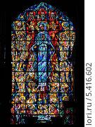 Купить «Бельгия. Брюссель. Витражи в церкви Святого Николая (Sint Niklaaskerk)», эксклюзивное фото № 5416602, снято 9 октября 2013 г. (c) Александр Тарасенков / Фотобанк Лори