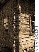 Купить «Сруб старого деревянного дома», фото № 5428542, снято 18 мая 2013 г. (c) Марина Шатерова / Фотобанк Лори