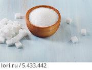 Сахар-песок и сахар-рафинад. Стоковое фото, фотограф Tatjana Baibakova / Фотобанк Лори