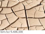 Купить «Сухая почва в Долине Смерти», фото № 5436330, снято 28 сентября 2013 г. (c) Aleksandr Stzhalkovski / Фотобанк Лори