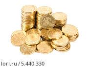 Купить «Десятирублевые монеты», фото № 5440330, снято 18 июля 2018 г. (c) FotograFF / Фотобанк Лори