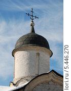 Купить «Купол церкви Мученика Трифона в Напрудном, Москва», эксклюзивное фото № 5446270, снято 11 марта 2011 г. (c) lana1501 / Фотобанк Лори