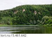 Река Уфа. Стоковое фото, фотограф Евгений Степанов / Фотобанк Лори