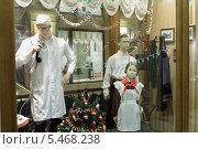 Москва, магазин ГУМ в Новогодних украшениях (2013 год). Редакционное фото, фотограф Дмитрий Неумоин / Фотобанк Лори