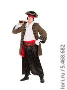 Купить «Мужчина в костюме пирата», фото № 5468682, снято 8 ноября 2013 г. (c) Сергей Сухоруков / Фотобанк Лори