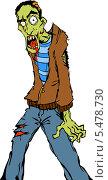 Зомби. Стоковое фото, фотограф Константин Костенко / Фотобанк Лори