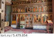 Купить «Интерьер Софийского собора в Великом Новгороде», фото № 5479854, снято 18 июня 2019 г. (c) FotograFF / Фотобанк Лори