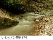 Быстрая горная река. Стоковое фото, фотограф Ольга / Фотобанк Лори
