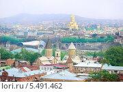 Купить «Панорама Тбилиси», фото № 5491462, снято 12 ноября 2013 г. (c) Иван Нестеров / Фотобанк Лори
