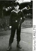 Купить «Портрет моряка», эксклюзивное фото № 5492710, снято 26 февраля 2020 г. (c) Михаил Ворожцов / Фотобанк Лори