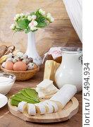 Купить «Изысканный сыр и кувшин молока», фото № 5494934, снято 1 ноября 2013 г. (c) Алексей Кузнецов / Фотобанк Лори