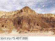 Купить «Израиль. Национальный парк Тимна. Вид на туристический маршрут к аркам в скале», фото № 5497886, снято 11 апреля 2013 г. (c) Светлана Зотеева / Фотобанк Лори