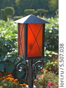 Купить «Красный фонарь», эксклюзивное фото № 5507038, снято 21 августа 2013 г. (c) Галина Шорикова / Фотобанк Лори