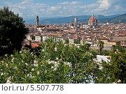 Флоренция в сентябре (2013 год). Стоковое фото, фотограф Алла Вовнянко / Фотобанк Лори