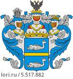 Купить «Герб графов Паниных», иллюстрация № 5517882 (c) VectorImages / Фотобанк Лори