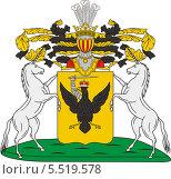 Купить «Герб рода Салтыковых», иллюстрация № 5519578 (c) VectorImages / Фотобанк Лори
