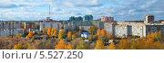 Панорама осеннего города. Ижевск (2013 год). Стоковое фото, фотограф Agnes Chvankova / Фотобанк Лори