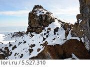 Купить «Вершина горы Килиманджаро утром. Танзания», фото № 5527310, снято 29 января 2008 г. (c) Знаменский Олег / Фотобанк Лори