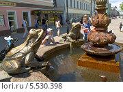 Купить «Казань, улица Баумана», фото № 5530398, снято 1 июня 2013 г. (c) ИВА Афонская / Фотобанк Лори