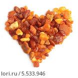 Купить «Янтарное сердце», фото № 5533946, снято 6 декабря 2011 г. (c) Stockphoto / Фотобанк Лори