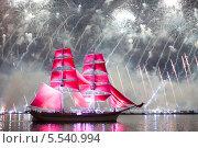 Купить «Санкт-Петербург. Алые паруса 2013», эксклюзивное фото № 5540994, снято 24 июня 2013 г. (c) Литвяк Игорь / Фотобанк Лори