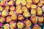 Яркие желтые розы, фон, фото № 5542358, снято 4 сентября 2012 г. (c) Losevsky Pavel / Фотобанк Лори