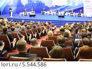 """Форум """"Опоры России"""". 14 ноября, 2012 г., Москва. Редакционное фото, фотограф Losevsky Pavel / Фотобанк Лори"""