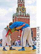 Купить «Борцы, форум ГТО на Красной площади», фото № 5545194, снято 27 мая 2012 г. (c) Losevsky Pavel / Фотобанк Лори