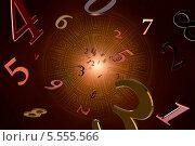 Купить «Нумерология (магические знания)», иллюстрация № 5555566 (c) Руслан Гречка / Фотобанк Лори