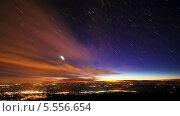 Купить «Перемещение звезд по небу, таймлапс», видеоролик № 5556654, снято 5 февраля 2014 г. (c) Никита Майков / Фотобанк Лори