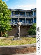 Купить «Памятник архитектору Шота Кавлашвили. Тбилиси. Грузия», фото № 5557586, снято 3 июля 2013 г. (c) Евгений Ткачёв / Фотобанк Лори